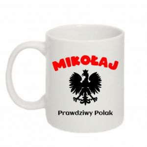 Mug 330ml Nicholas is a real Pole - PrintSalon