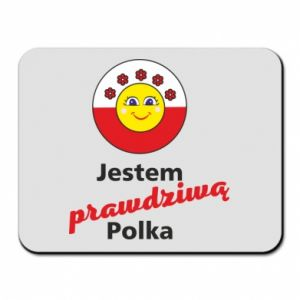Mouse pad I am a real Polish woman