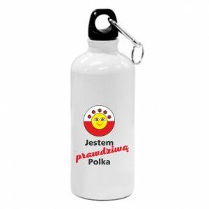 Bidon turystyczny Jestem prawdziwą Polką