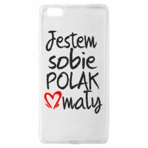Huawei P8 Lite Case I am from Poland