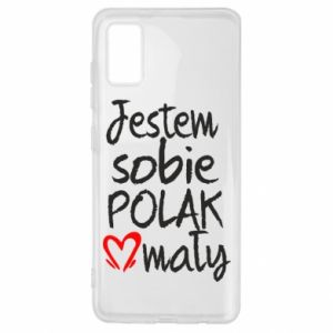 Samsung A41 Case I am from Poland
