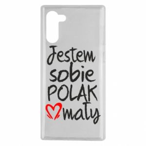 Samsung Note 10 Case I am from Poland