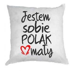 Pillow I am from Poland