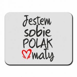Mouse pad I am from Poland