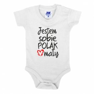Baby bodysuit I am from Poland