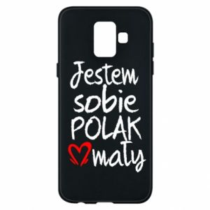 Samsung A6 2018 Case I am from Poland