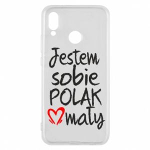 Huawei P20 Lite Case I am from Poland