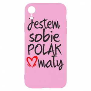 iPhone XR Case I am from Poland