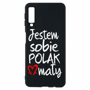 Samsung A7 2018 Case I am from Poland