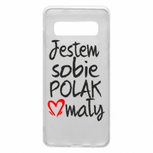Samsung S10 Case I am from Poland