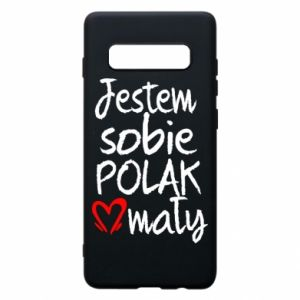 Samsung S10+ Case I am from Poland