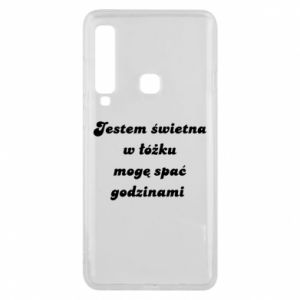 Phone case for Samsung A9 2018 I'm great in bed, I can sleep for hours - PrintSalon