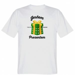 Koszulka męska Jestem twoim prezentem