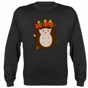 Sweatshirt Hedgehog in the leaves
