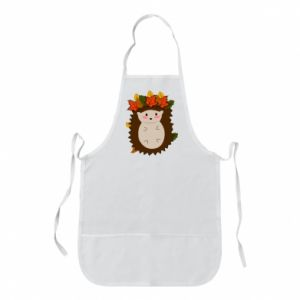 Apron Hedgehog in the leaves
