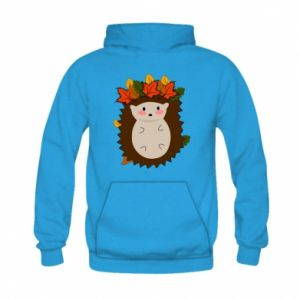 Kid's hoodie Hedgehog in the leaves