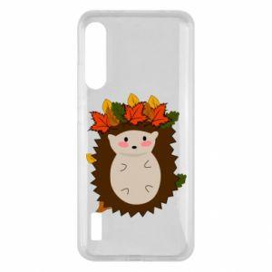 Xiaomi Mi A3 Case Hedgehog in the leaves