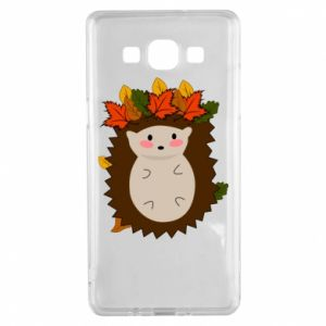 Samsung A5 2015 Case Hedgehog in the leaves