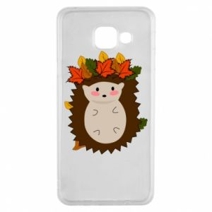 Samsung A3 2016 Case Hedgehog in the leaves