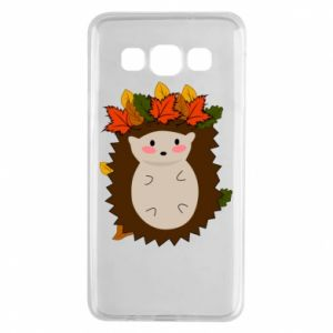 Samsung A3 2015 Case Hedgehog in the leaves