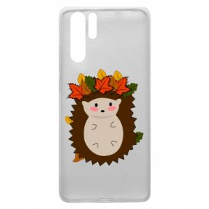 Huawei P30 Pro Case Hedgehog in the leaves