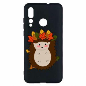 Huawei Nova 4 Case Hedgehog in the leaves