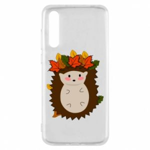 Huawei P20 Pro Case Hedgehog in the leaves