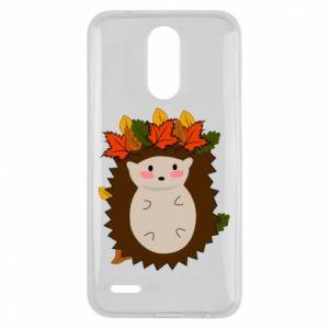 Lg K10 2017 Case Hedgehog in the leaves