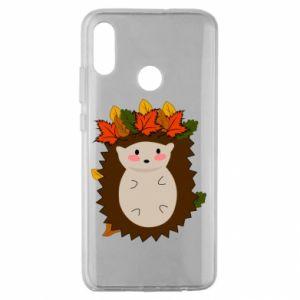 Huawei Honor 10 Lite Case Hedgehog in the leaves