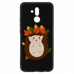 Huawei Mate 20Lite Case Hedgehog in the leaves