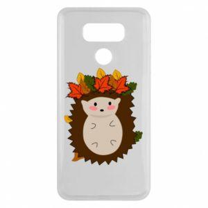 LG G6 Case Hedgehog in the leaves
