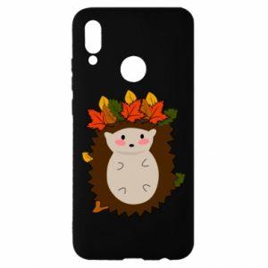 Huawei P Smart 2019 Case Hedgehog in the leaves
