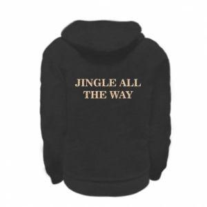 Bluza na zamek dziecięca Jingle all the way