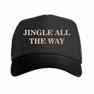 Trucker hat Jingle all the way