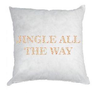 Pillow Jingle all the way
