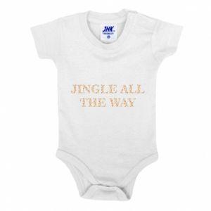 Baby bodysuit Jingle all the way