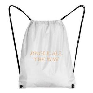 Backpack-bag Jingle all the way