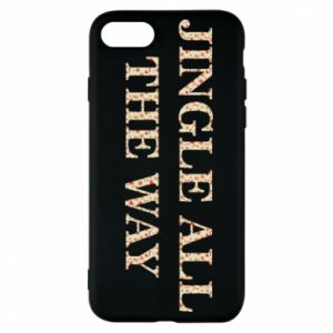 Phone case for iPhone 7 Jingle all the way