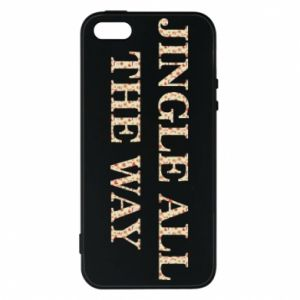 Phone case for iPhone 5/5S/SE Jingle all the way