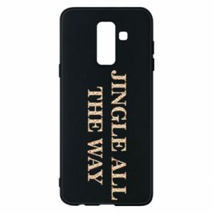 Phone case for Samsung A6+ 2018 Jingle all the way