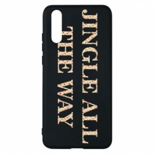 Phone case for Huawei P20 Jingle all the way