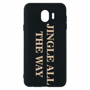 Phone case for Samsung J4 Jingle all the way