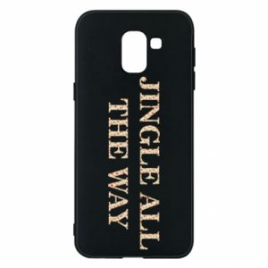 Phone case for Samsung J6 Jingle all the way