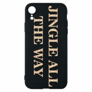 Phone case for iPhone XR Jingle all the way