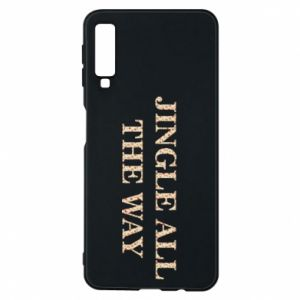 Phone case for Samsung A7 2018 Jingle all the way
