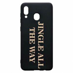 Phone case for Samsung A20 Jingle all the way