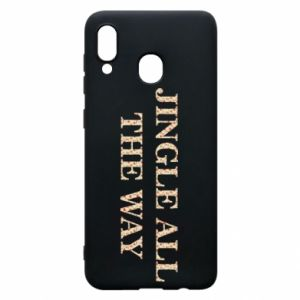 Phone case for Samsung A30 Jingle all the way