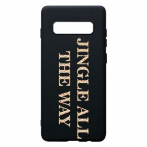 Phone case for Samsung S10+ Jingle all the way