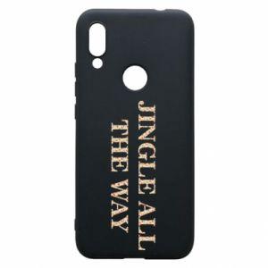 Phone case for Xiaomi Redmi 7 Jingle all the way
