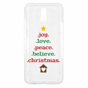 Etui na Nokia 2.3 Joy. Love. Peace. Believe. Christmas.